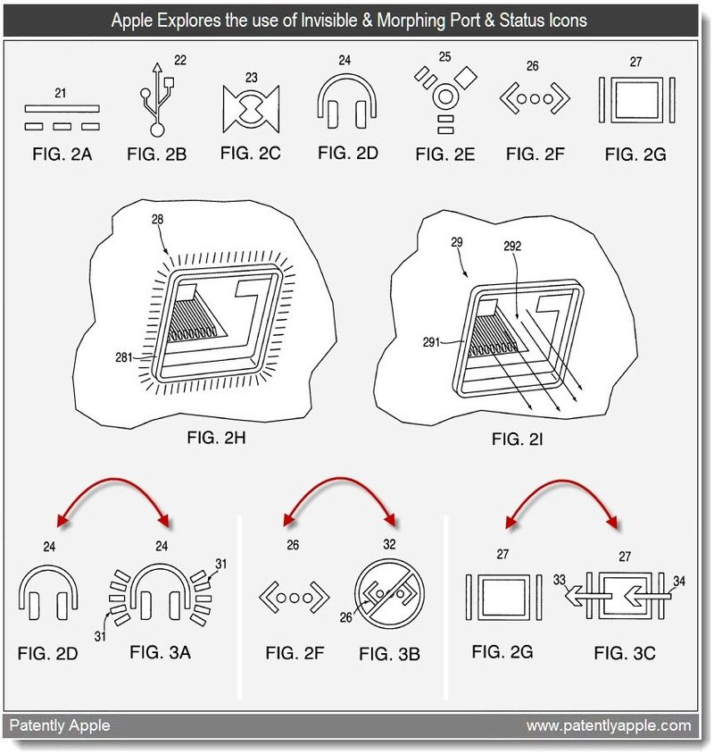 3 - invisble and morphing icons - apple patent 2011