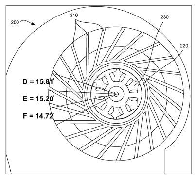 1 - Extra fan with nonuniformity spaced blades - mar 2011 - Apple