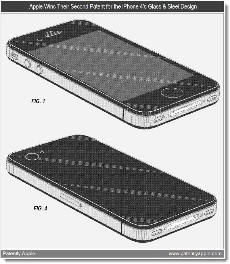 2 - Design Patent - iPhone 4 - Apple Granted Patent - Mar 2011