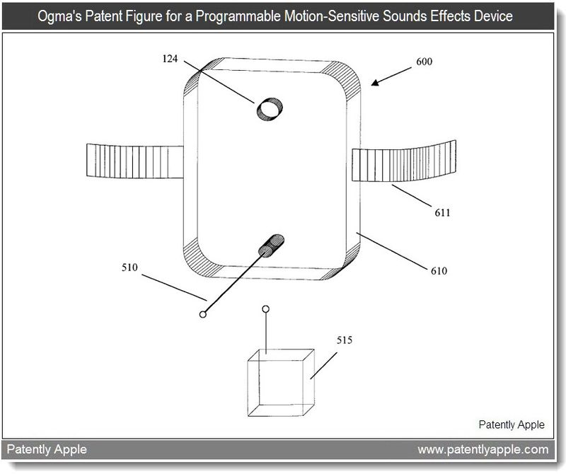 2 - ogma's patent fig # 6 for programmable motion-sensitive sounds effects device - patent infringement case mar 2011