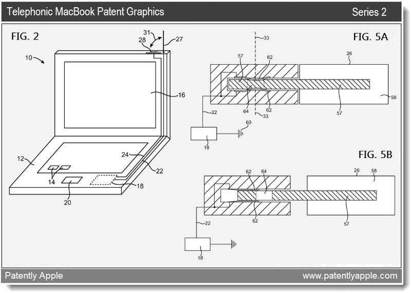 3 - Telephonic MacBook - patent graphics series 2 - mar 22, 2011