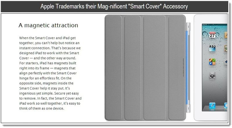 1 - Apple Trademarks their Mag-nificent Smart Cover Accessory - Mar 23, 2011