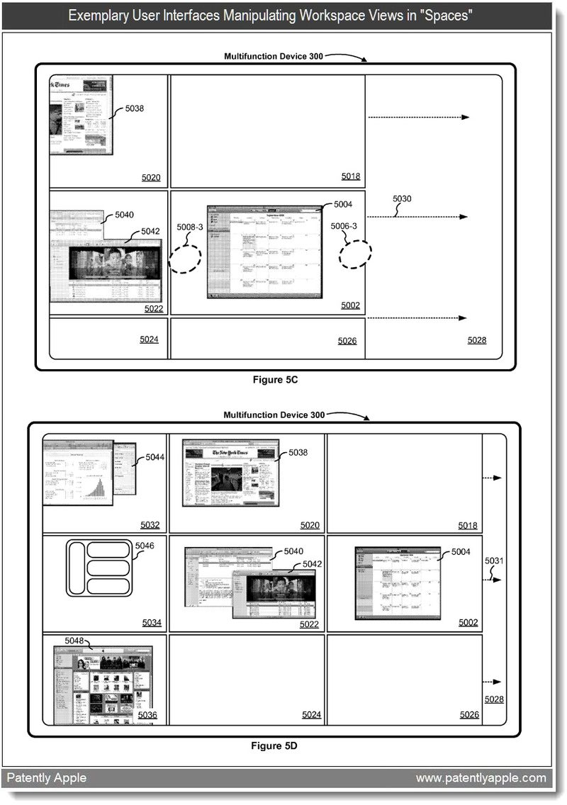 3 - apple spaces to iPad patent - fig 5c +