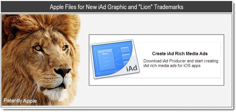 1b - Apple Files for New iAd Graphic and Lion Trademarks - April 2011