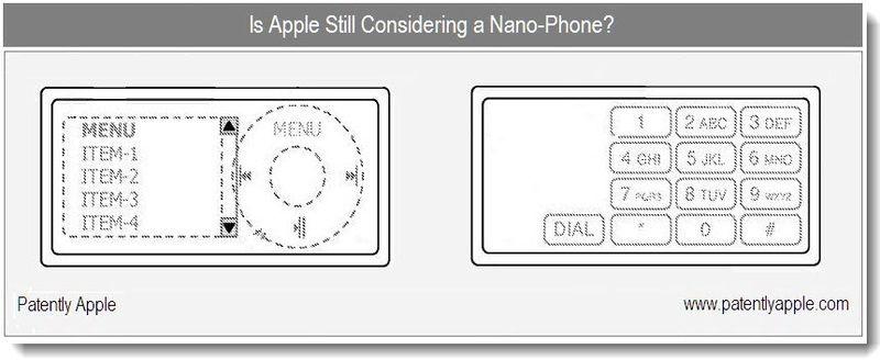 5 - Cover Graphic re Apple Inc Nano Phone .... patent