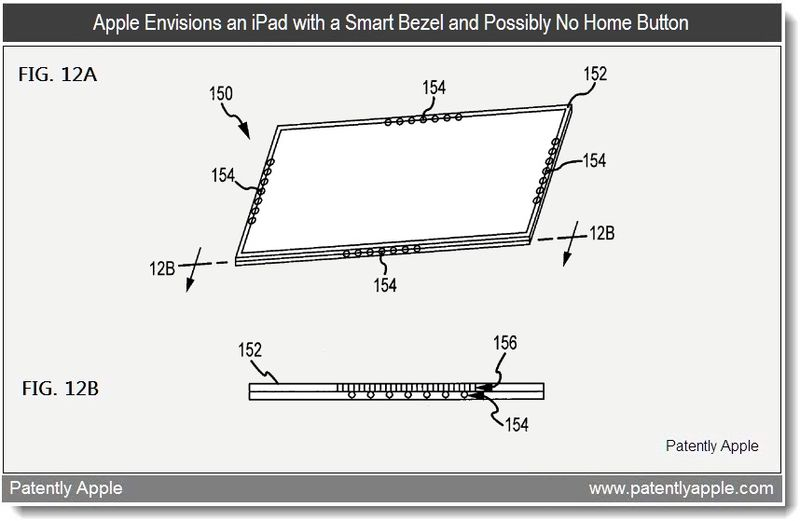 3 - Apple Patent - Smart Bezel - Possibly No Home Button - Feb 2011