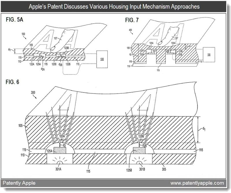3 - apple patent - various implementations of the reconfigurable keyboard - 2011 Feb