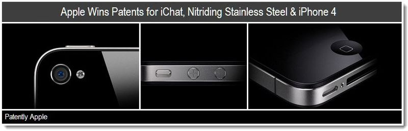 1b - Cover - apple wins patents for ichat, Nitriding stainless steel & iPhone 4 - mar 2011