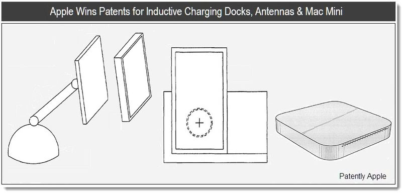 Apple Wins Patents for Inductive Charging Docks, Antennas & Mac Mini - Report Cover mar 29, 2011