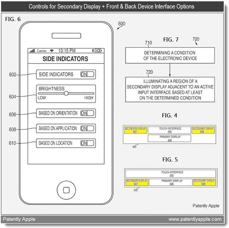 4 - controls for 2nd display and front & back interface options