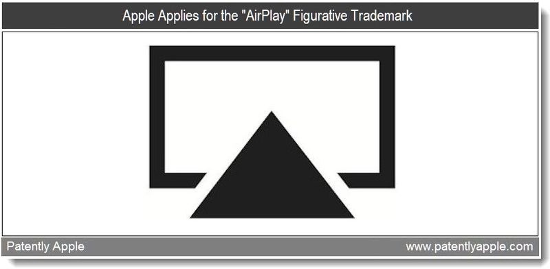3 - Apple Applies for the AirPlay Figurative Trademark - April 2011