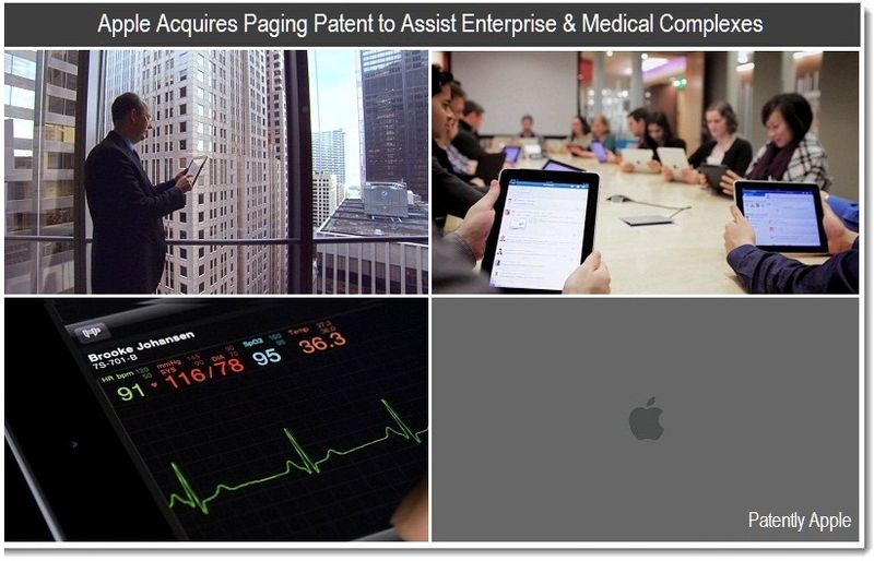 1 - Apple Acquires Paging Patent to Assist Enterprise & Medical Complexes - 2011 Apple