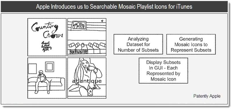 1 - Apple Introduces Searchable Mosaic Playlist Icons for iTunes - June 2011