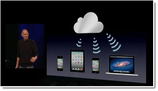5 - Steve Jobs June 2011 - Introduces iCloud