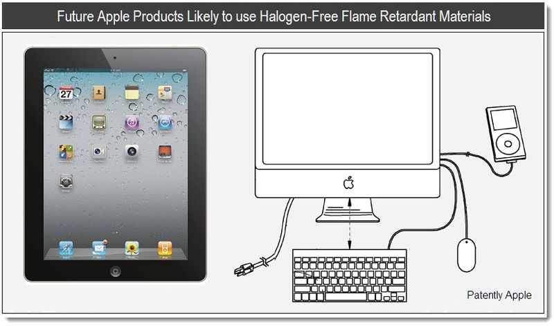 1 - Future Apple products likely to use halogen-free flame retardant materials - june 2011 - Patently Apple