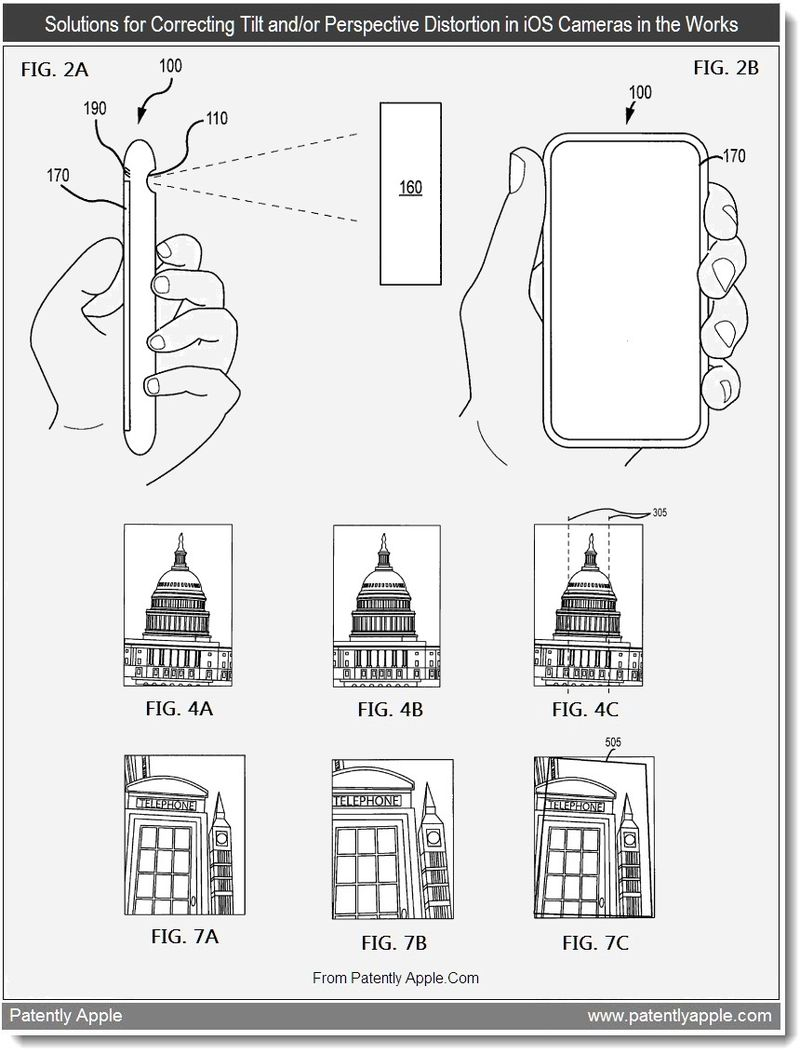 2A - Solutions for Correcting Tilt and Perspective Distortion in iOS Cameras in the Works - June 2011