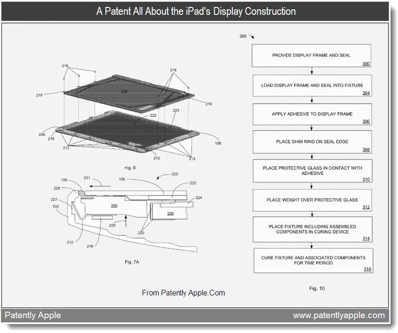 Extra - A patent all about the iPad's Display Construction - July 2011, Patently Apple