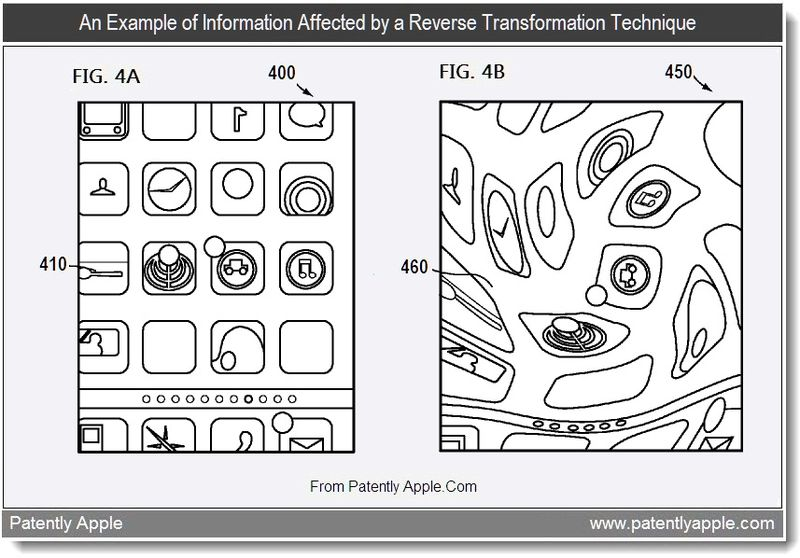 2 - An example of information affected by a reverse transformation technique, Apple invention, Aug 2011, Patently Apple