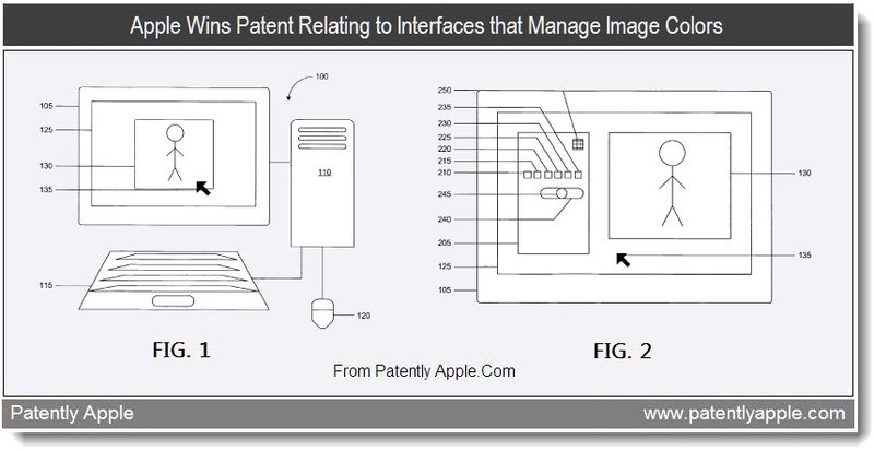 4 - Apple Wins Patent Relating to Interfaces that Manage Image Colors, Aug 2011, Patently Apple Blog