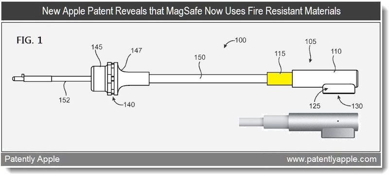 2 - New Apple patent reveals that MagSafe now uses fire resistant materials - april 2011