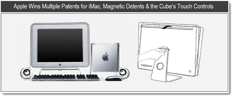 1 - Apple wins multiple patents for iMac, Magnetic Detents & The Cube's Touch Controls
