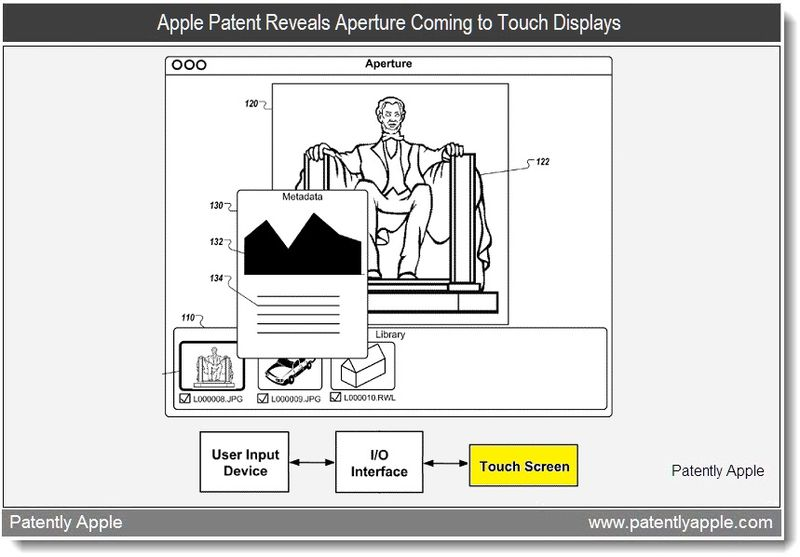 1 - Apple Patent Reveals Aperture Coming to Touch Displays