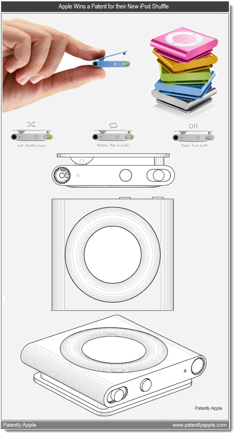 2A2 - Apple Wins a Patent for their New iPod Shuffle - May 2011