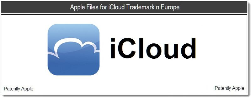 1 - iCloud Trademark Application in Europe - Posted June 1, 2011