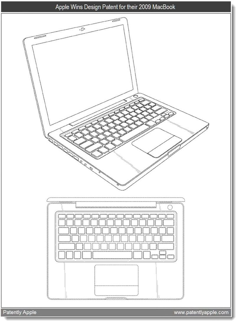 5 - design win for Macbook 2009