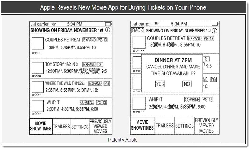 1 - Apple Reveals New Movie App for Buying Tickets on Your iPhone - June 2011
