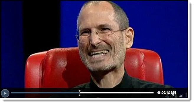 4 - Steve Jobs D8 2010 - Post PC era 2