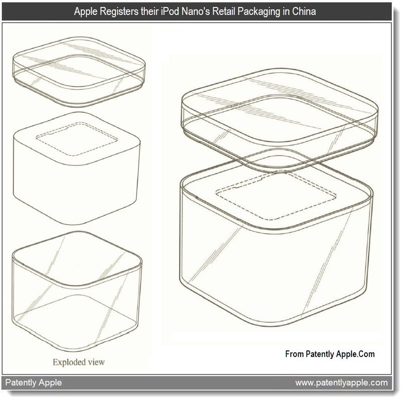 4 - Apple Registers their iPod nano's Retail Pkg in China - June 11, 2011