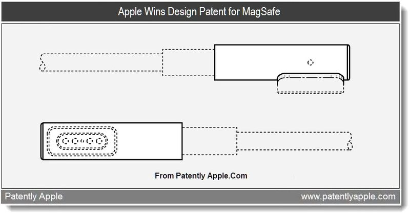 2 - Apple Wins Design Patent for MagSafe - June 14, 2011 - Patently Apple