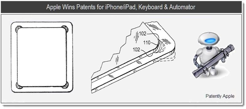 1 - Apple Wins Patents for iphone, ipad, keyboard & automaor, june 28, 2011