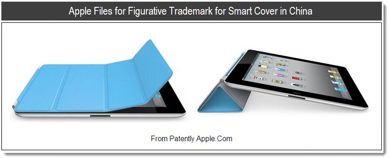 1 - Apple files for Figurative Trademark fo Smart Cover in China, Aug 2011, Patently Apple