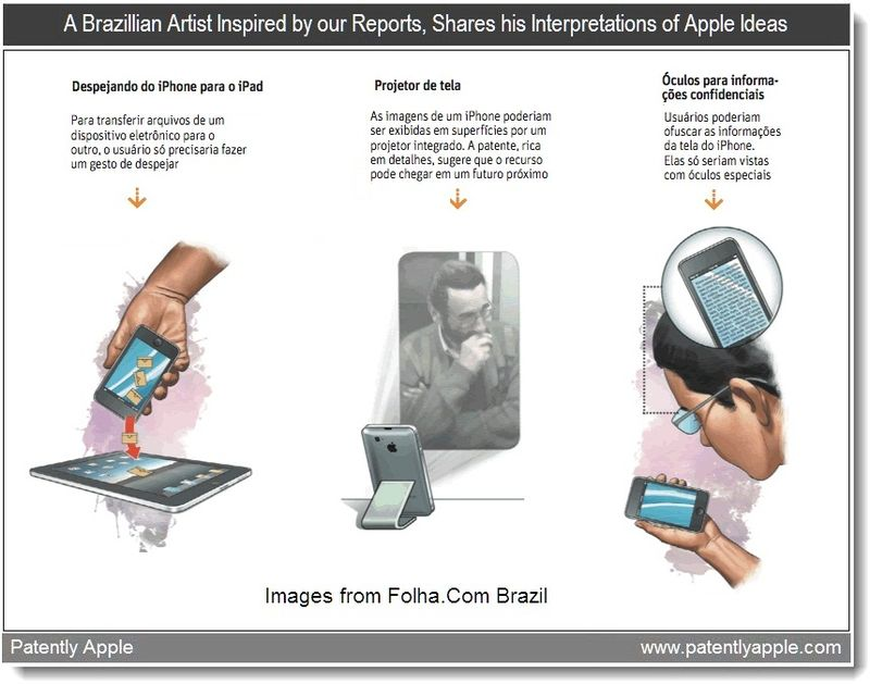 5 A - Special - A Brazillian Artist Inspired by our Reports, Shares his Interpretations of Apple Ideas, Sept 2011, Patently Apple Blog