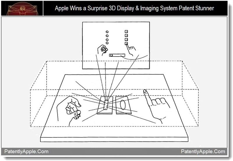 1b - Apple Wins a Surprise 3D Display & Imaging System Patent Sturnner, Sept 2011, from Patently Apple