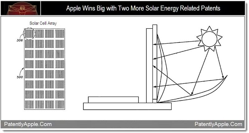 1 - Apple Wins Big with Two More Solar Energy Related Patents
