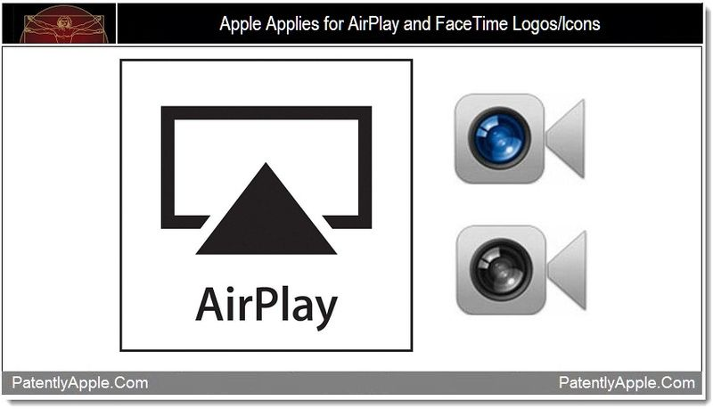 1 - Apple Applies for AirPlay and FaceTime Logos-Icons