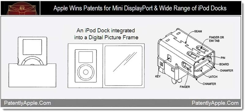 1 - Apple Wins Patents for Mini DisplayPort & Wide Range of iPod Docks
