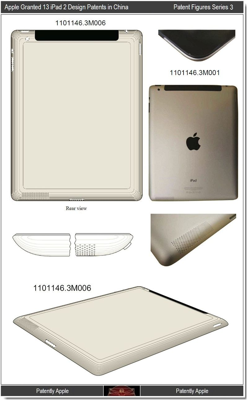 4 - China grants Apple 13 design wins iPad 2 - series 3