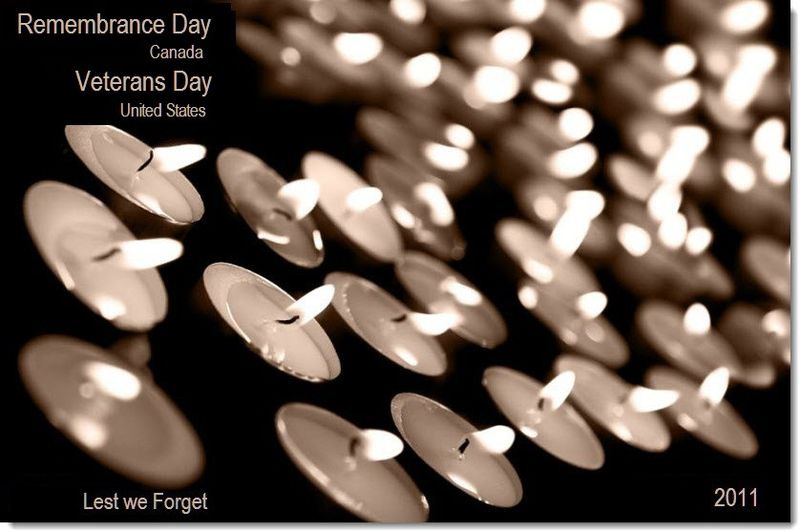 2 final - Remembrance Day, Veterans Day, 2011