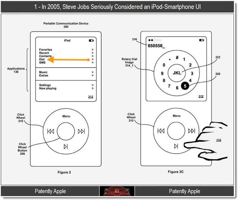 2b - Steve Jobs seriously considered an iPod-smartphone UI