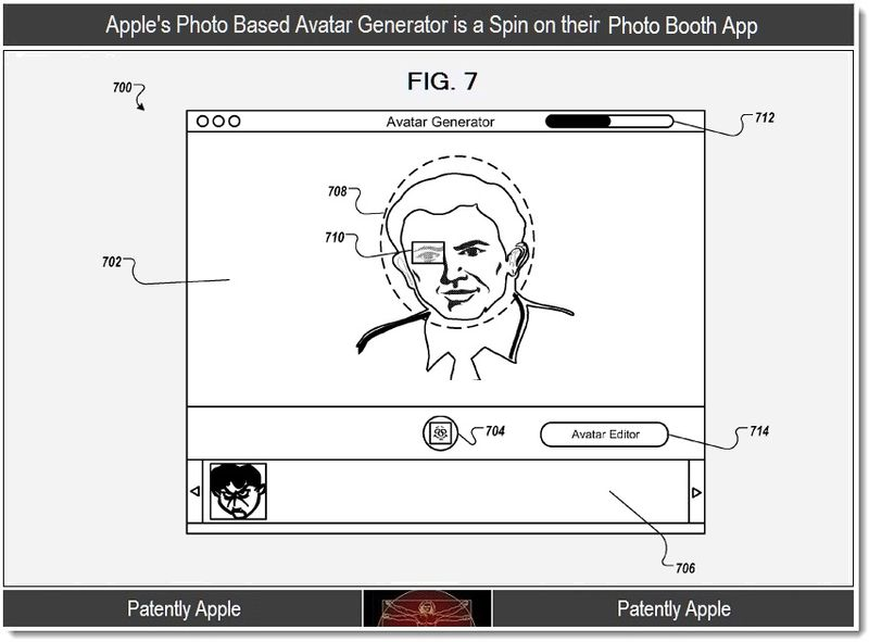 6 - Apple's photo based avatar generator is a spin on Photo Booth