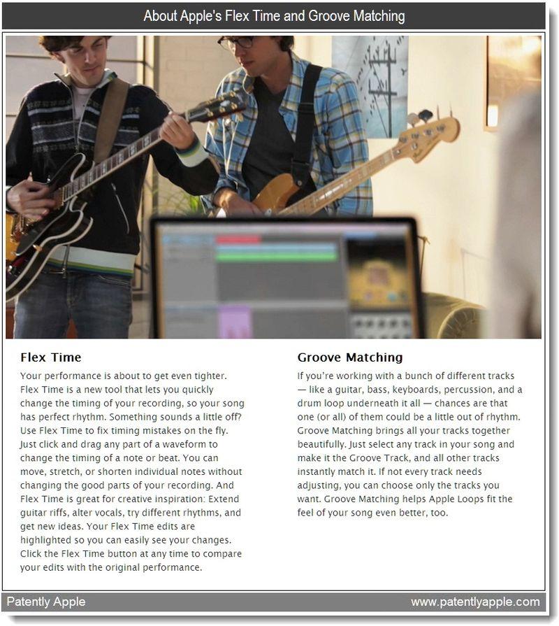 2 - Flex Time, Groove Matching - Apple Garageband features