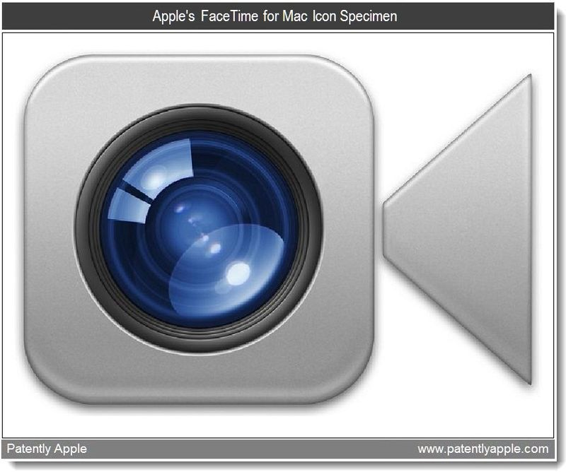 3A - Apple's FaceTime for Mac Icon Specimen - Apr 2011
