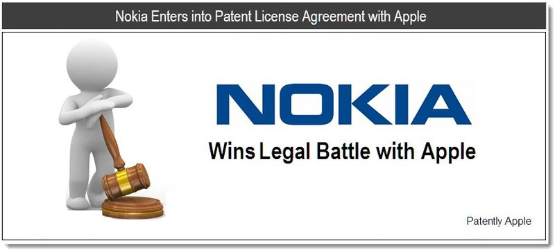 1 - Nokia Enters into Patent License Agreement with Apple - June 14, 2011