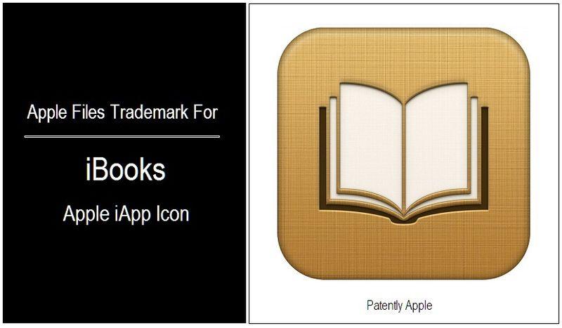 Apple iBook Icon Trademark