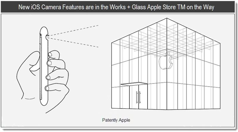 1 - New iOS Camera Features are in the Works + Glass Apple Store TM on the Way