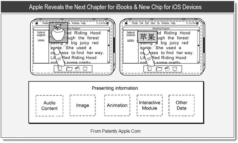 1 - Apple Reveals the Next Chapter for iBooks & New Chip for iOS Devices, July 2011, Patently Apple